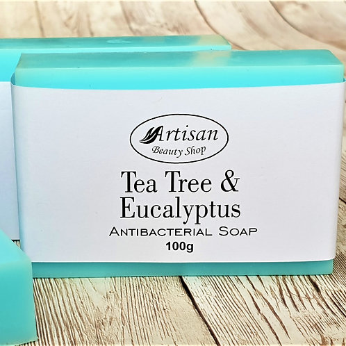 Tea Tree Antibacterial Soap Bar