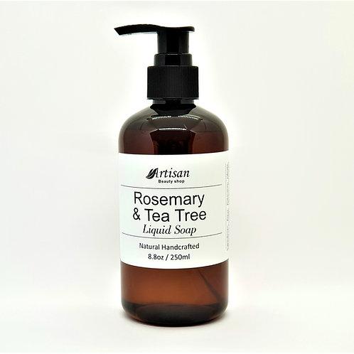 Rosemary & Tea Tree Liquid Soap