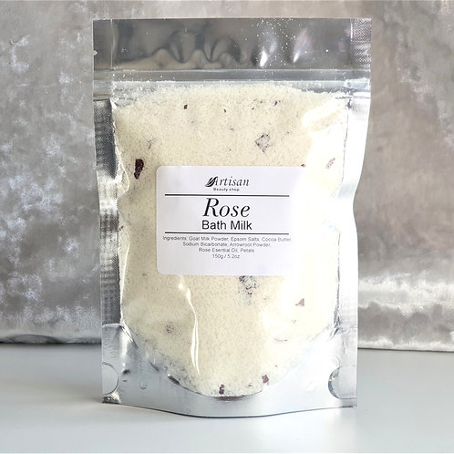 Rose Bath Milk / Coconut Milk