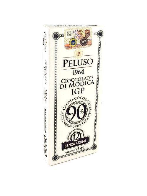 CIOCOLATA DE MODICA IGP 90% CIOCOLATA NEAGRA 75GR