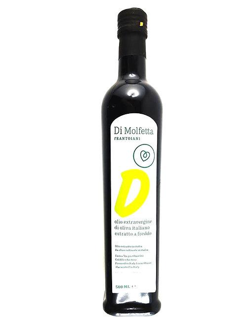 ULEI DE MASLINE EXTRAVIRGIN GUST DELICAT  cu masline 100% din Italia 500ML