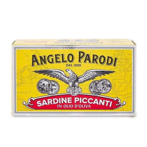 FILE DE SARDINE IN ULEI DE MASLINE 105 GR ANGELO PARODI