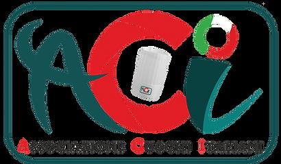 Logo - ACI - Colori - Trasparente tutto.