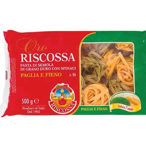 PASTE PAGLIA &  FIENO 500 GR RISCOSSA