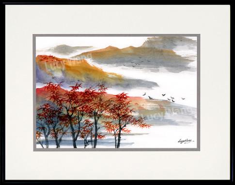Quilin in Autumn