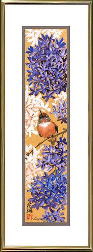 Lilac & Hummingbird #1