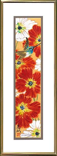 Poppy & Hummingbird #1-(sold)