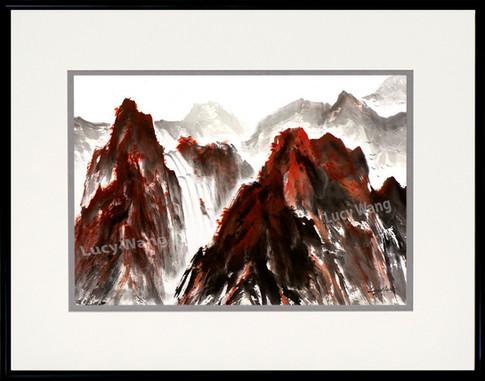 Huang Mountain in Autumn