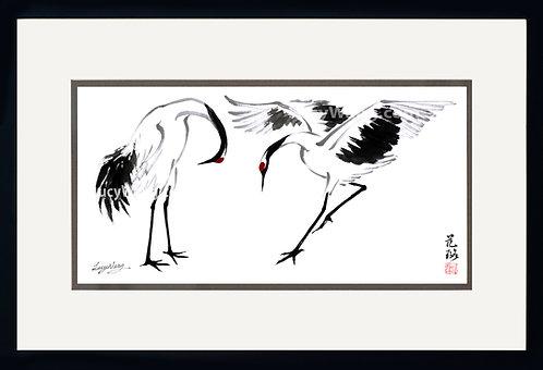 Dancing Cranes #4