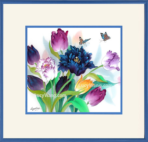 Tulips & Butterflies