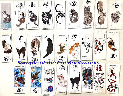 Note Cards or Bookmarks-set of 10