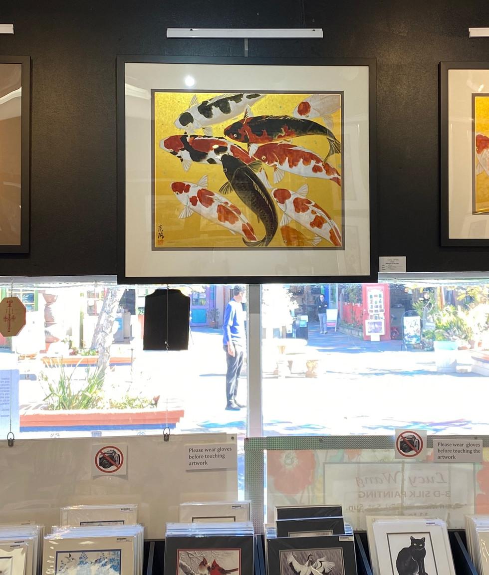 Original Koi Paintings