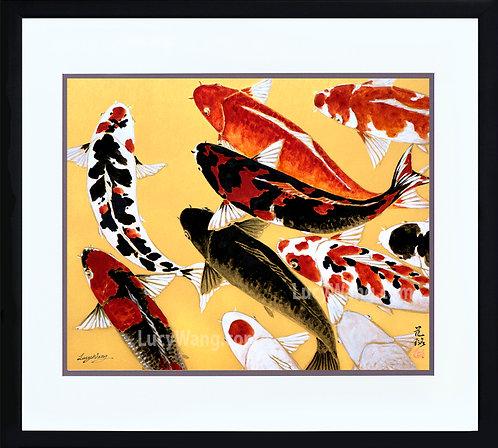 Nine Koi #6 (sold)