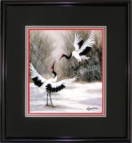 Dancing Cranes #1