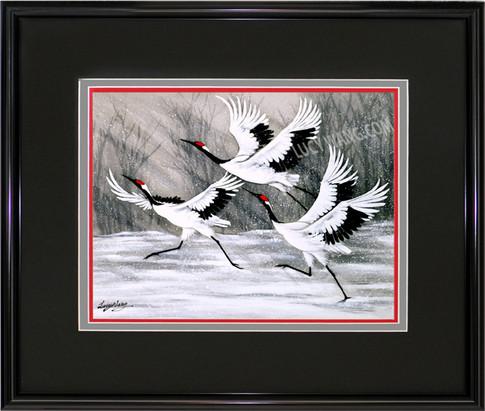 Cranes-Departure