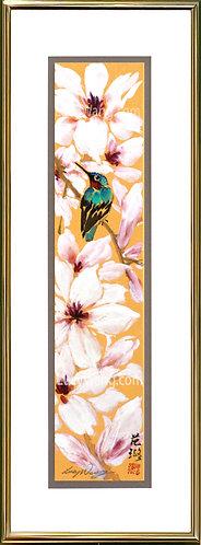 Magnolia & Hummingbird #1