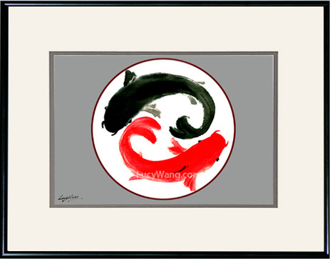 Yin & Yang Koi