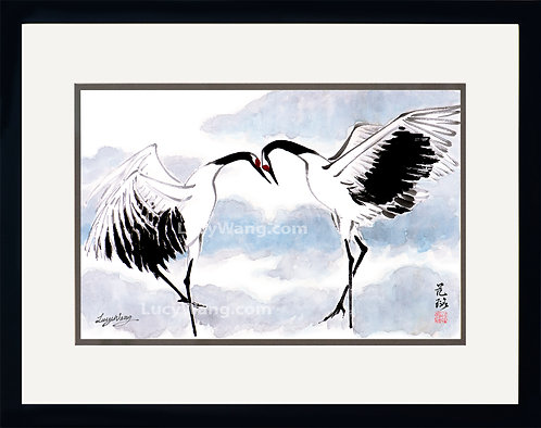 Dancing Cranes #2