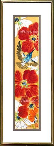 Poppy & Hummingbird #2
