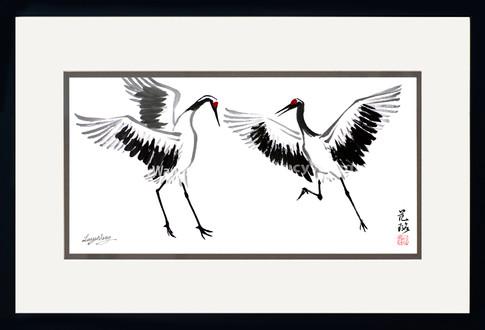 Dancing Cranes #3