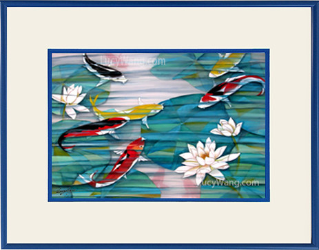 Koi & Water Lily #3