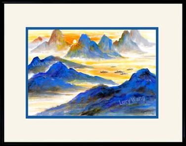 Sunset on Liriver #4