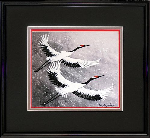 Flying Cranes