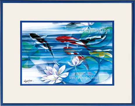 Koi & Water Lily #1