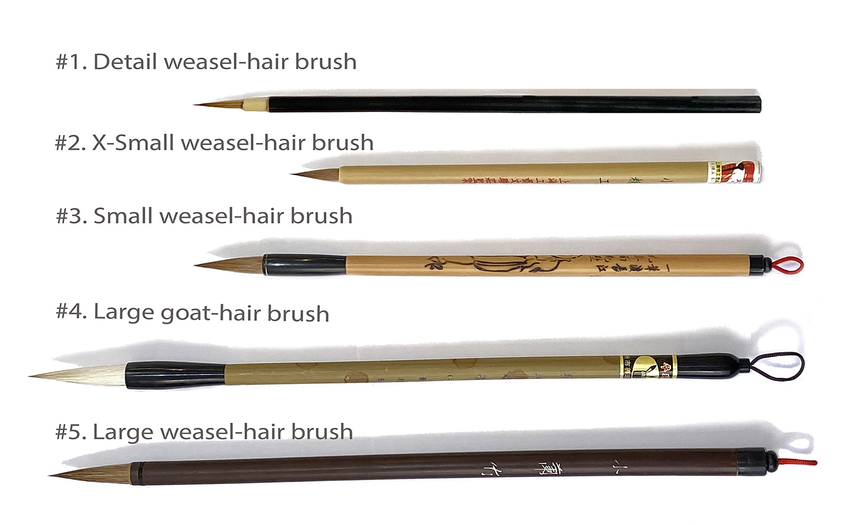Chinese Brush Set