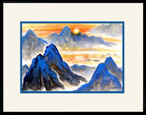 Sunset on Liriver #3