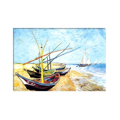 Vincent Van Gogh - Bateaux