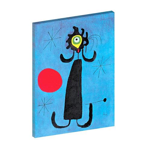 Mujer ante el sol Joan Miró