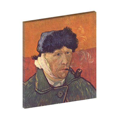 Autorretrato con oreja vendada Vincent Van Gogh