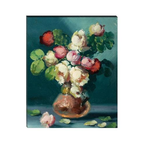 Pintura de florero