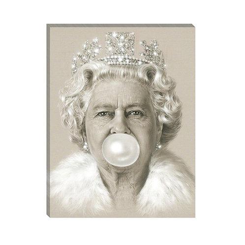 Queen Elizabeth bubble