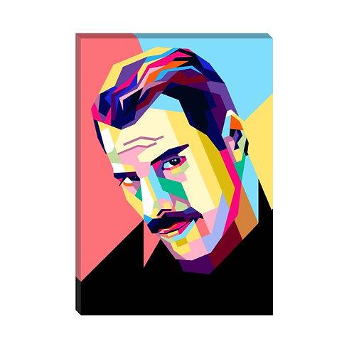 Freddie Mercury Face