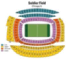 Chicago Bears Soldier Field Boletos de estadio