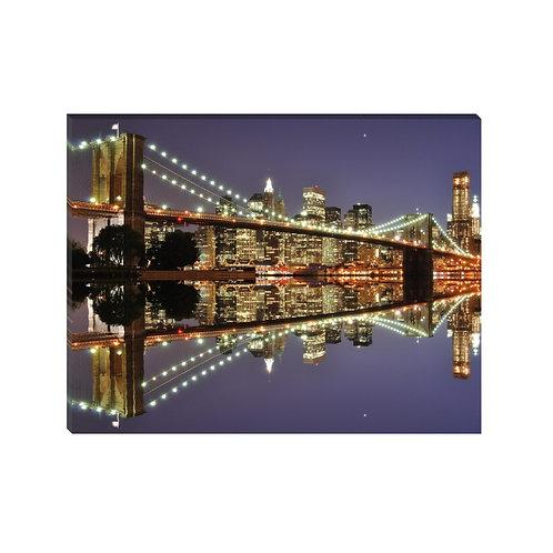 Puente Brooklyn Morado