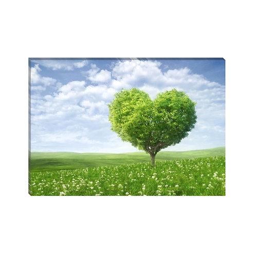 Arbol de corazón