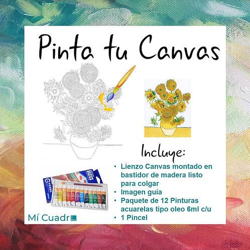 Pinta Girasoles Van Gogh