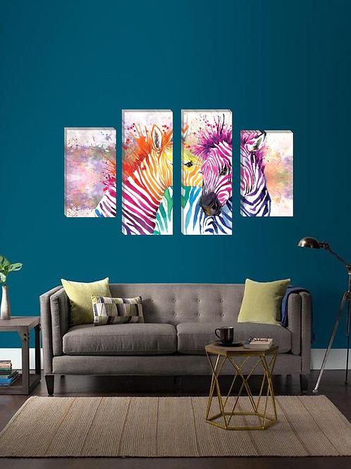 Set Cebra de colores