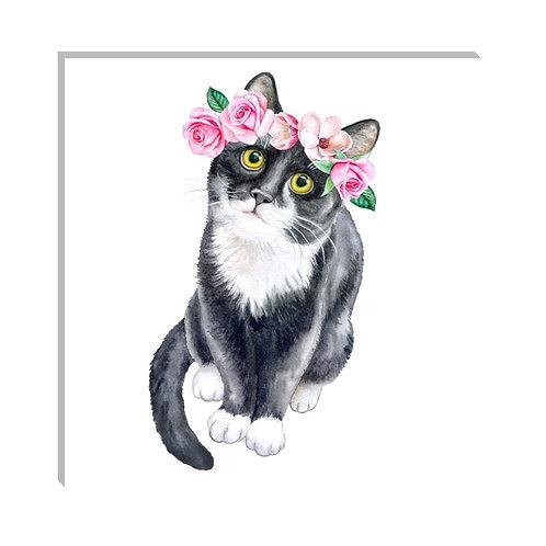 Gato floral
