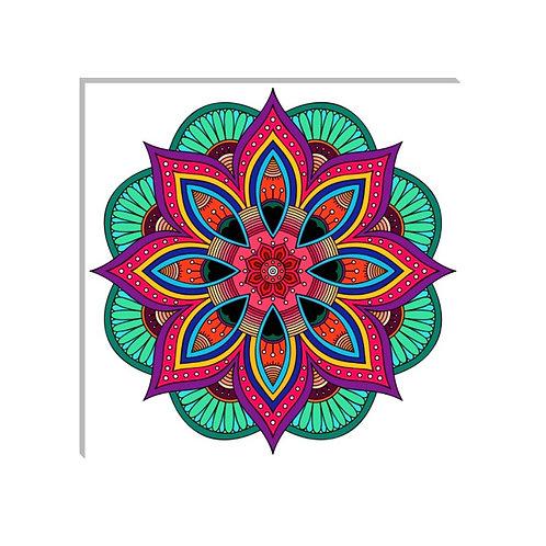 Mandala Colores Vivos