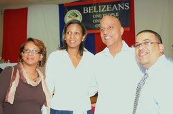 Belize's Prime Minsiter Dean Barrow