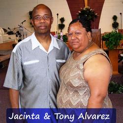 Jacinta & Tony Alvarez