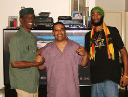Brother David, Wil & Ras Indio