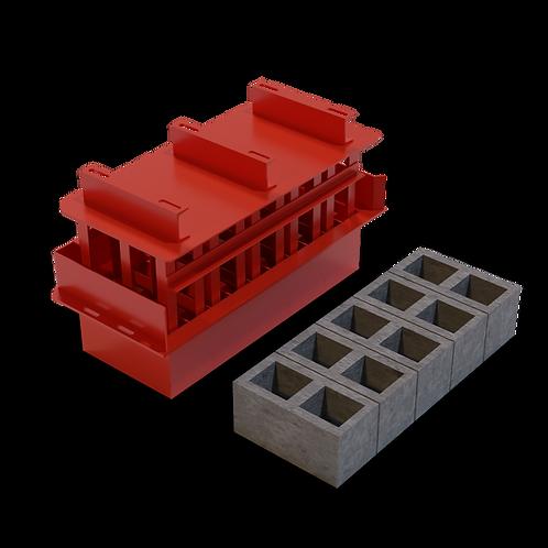 M9 Cavity Block MK3 Mould (190x190x390mm)