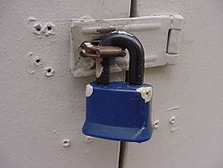 Padlock for security