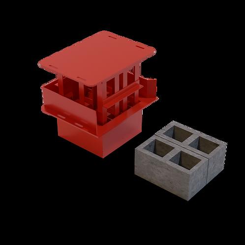 JJBAM M9 Cavity Block MK2 Mould (190x190x390mm)