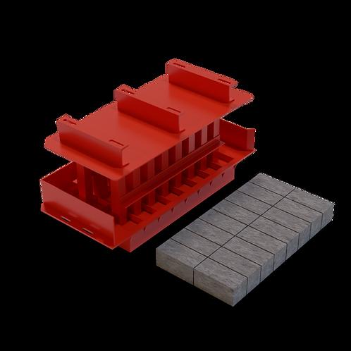 JJJAASB Super Brick MK3 Mould (100x100x200mm)